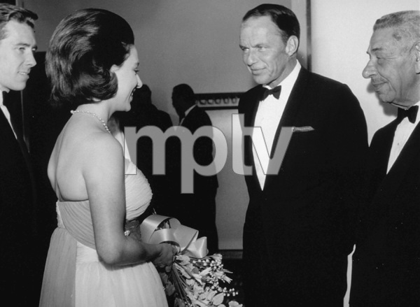 Frank Sinatra and Mike Romanoff meeting Princess Margaret and Lord Snowdoncirca 1962 © 1978 Ted Allan - Image 0337_0852