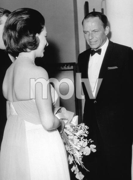 Frank Sinatra meeting PrincessMargaret / c. 1960 © 1978 Ted Allan - Image 0337_0853
