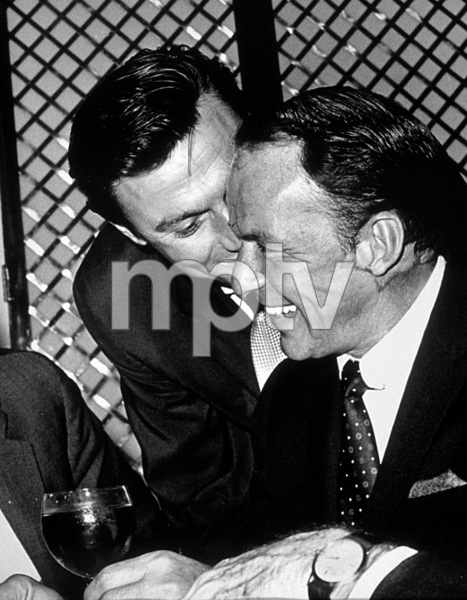 Frank Sinatra and Laurence Harveyc. 1962 © 1978 Ted Allan - Image 0337_0987