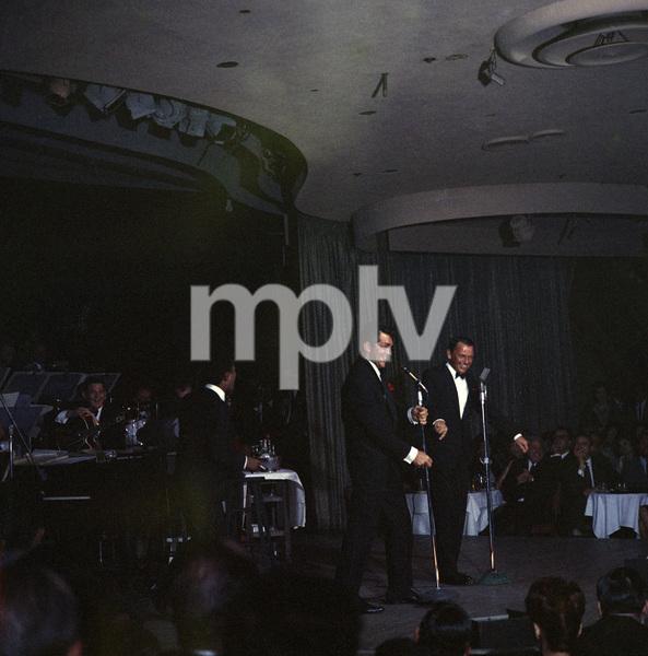 Frank Sinatra, Dean Martin and Sammy Davis Jr. performingcirca 1960 © 1978 Ted Allan - Image 0337_0989