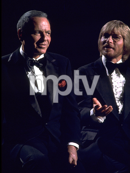 "Frank Sinatra and John Denver""Sinatra and Friends"" 1977 ABC TV Special © 1978 Bud Gray - Image 0337_1032"