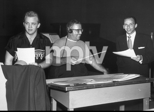 Frank Sinatra with Gary Crosby and John Scott Trotter / 1954 Phptp By Gabi Rona - Image 0337_1046
