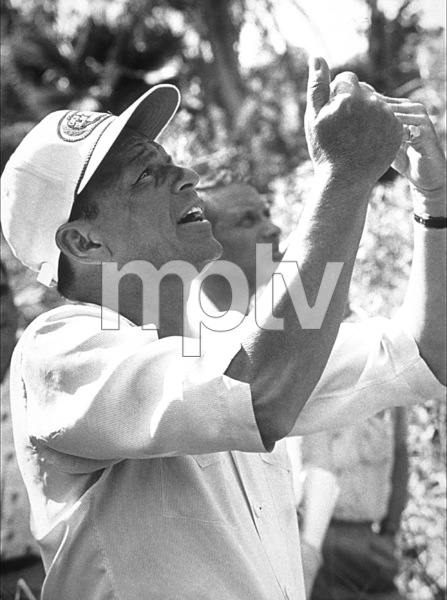 "Frank Sinatra on the set of ""None But The Brave"" / 1965 © 1978 David Sutton - Image 0337_1050"