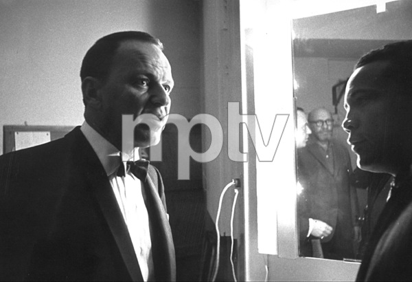 Frank Sinatra and Quincy Jonesc. 1960 © 1978 David Sutton - Image 0337_1136