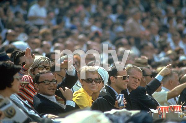 Frank Sinatra, Mia Farrow and Nancy Sinatra (In Background) / 1967 © 1978 Gunther - Image 0337_1156
