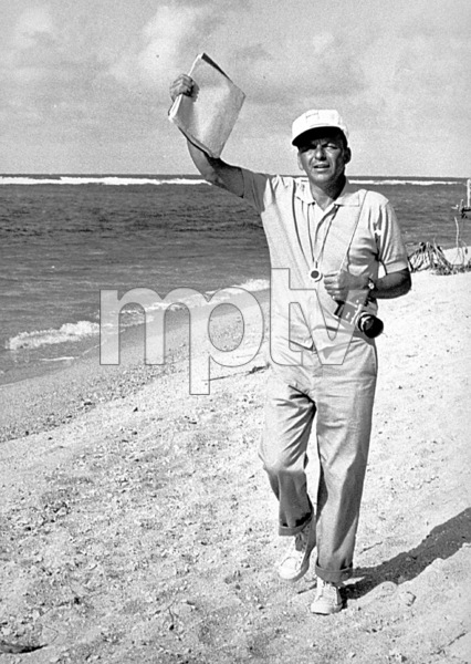 """Frank Sinatra off the set of """"None But The Brave"""" / 1965 © 1978 David Sutton - Image 0337_1171"""