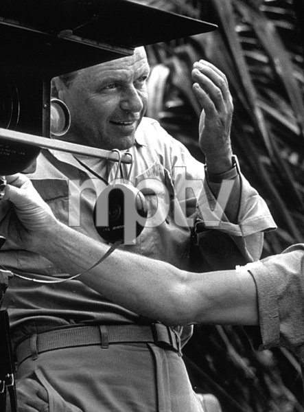 """Frank Sinatra directing """"None But The Brave"""" / 1965 © 1978 David Sutton - Image 0337_1172"""