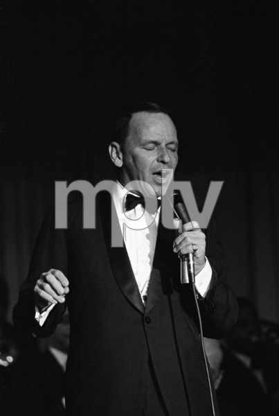 Frank Sinatra performing at the Sands Hotel in Las Vegas1964 © 1978 David Sutton - Image 0337_1174
