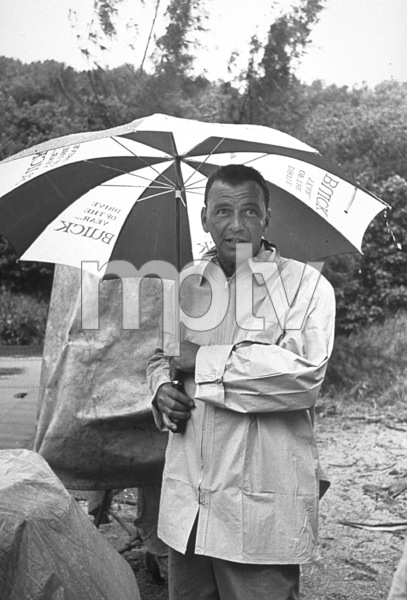 """Frank Sinatra on location during """"None But The Brave"""" 1965 © 1978 David Sutton - Image 0337_1184"""