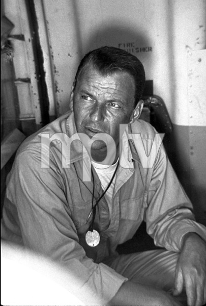 """Frank Sinatra during """"None But The Brave"""" / 1965 © 1978 David Sutton - Image 0337_1185"""