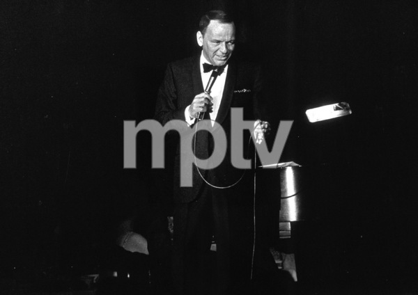 Frank Sinatra  performingc. 1962 © 1978 Ted Allan - Image 0337_1194