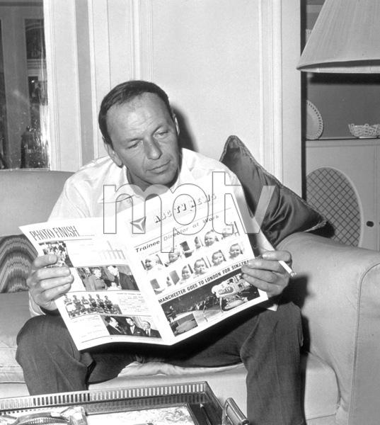 Frank Sinatra  c. 1962 © 1978 Ted Allan - Image 0337_1216