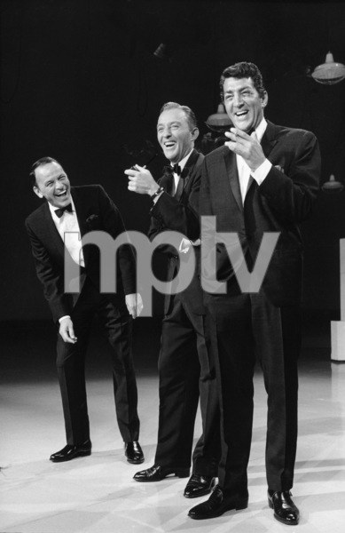 "Frank Sinatra, Bing Crosby and Dean Martin on an NBC ""Bing Crosby Special""1963 © 1978 Gene Trindl - Image 0337_1219"