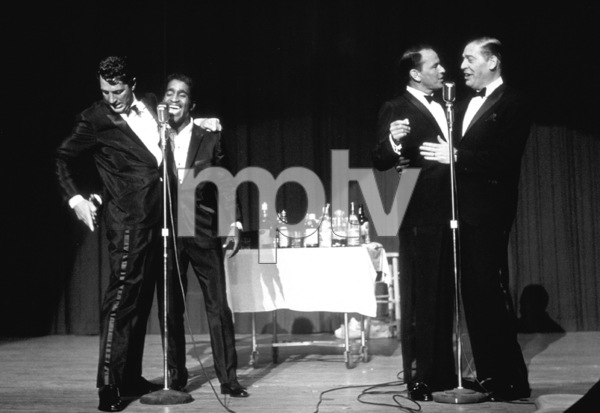Frank Sinatra, Dean Martin, Sammy Davis Jr. and Milton Berle / c. 1964 © 1978 David Sutton - Image 0337_1259