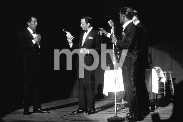 Frank Sinatra, Dean Martin, Sammy Davis Jr. and Milton Berle / c. 1964 © 1978 David Sutton - Image 0337_1260