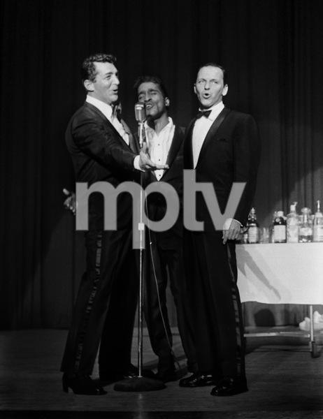 Frank Sinatra performing with Dean Martin and Sammy Davis Jr.circa 1964 © 1978 David Sutton - Image 0337_1261