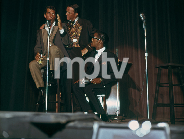 Frank Sinatra, Dean Martin and Sammy Davis Jr.circa 1965 © 1978 David Sutton - Image 0337_1274