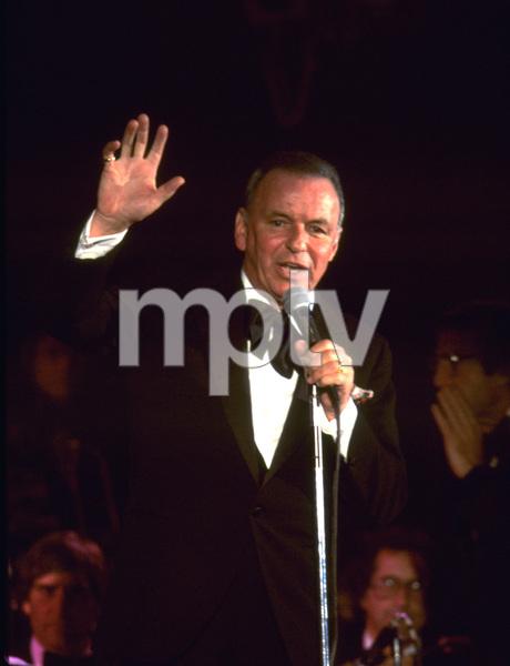 Frank Sinatra performing at Caesar