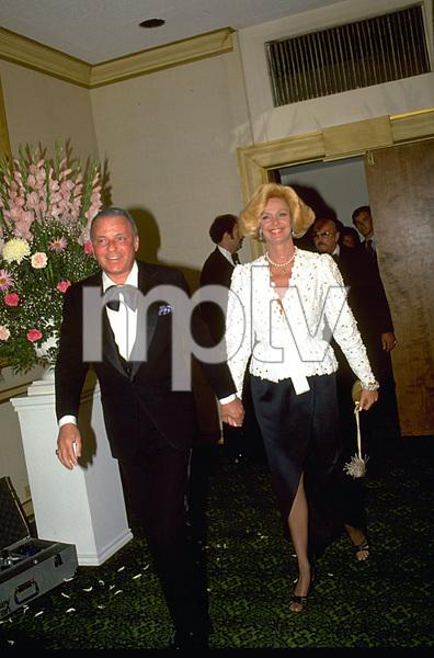 "Frank Sinatra with wife Barbara Marx at ""Man Of The Year"" Awards © 1979 Gunther - Image 0337_1363"