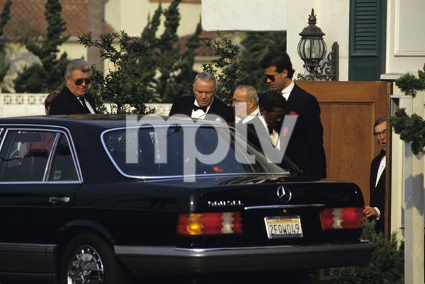Frank Sinatra, Jilly Rizzo and Sammy Davis Jr. at Chasen