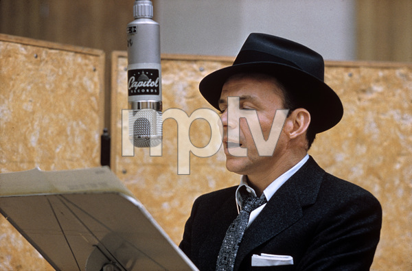 "Frank Sinatra at ""This Is Sinatra"" Capitol recording session1957 © 1978 Sid Avery - Image 0337_1405"