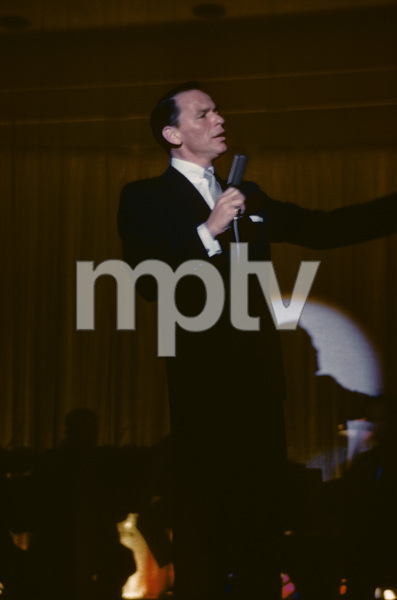 Frank Sinatra performing at the Sands Hotel in Las Vegas1957© 1978 Ken Whitmore - Image 0337_1445