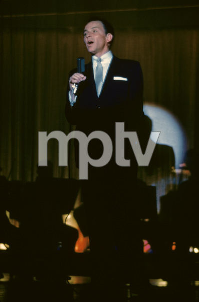 Frank Sinatra performing at the Sands Hotel in Las Vegas1957© 1978 Ken Whitmore - Image 0337_1446