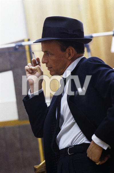 Frank Sinatra at a Capitol Records recording session in Los Angelescirca 1954© 1978 Sid Avery - Image 0337_1457