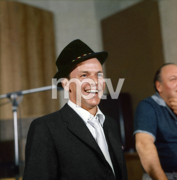 Frank Sinatra during a Capitol Records recording session1959© 1978 Sid Avery - Image 0337_1484a