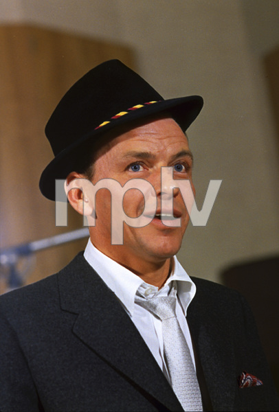 Frank Sinatra during a Capitol Records recording session 1959© 1978 Sid Avery - Image 0337_1490