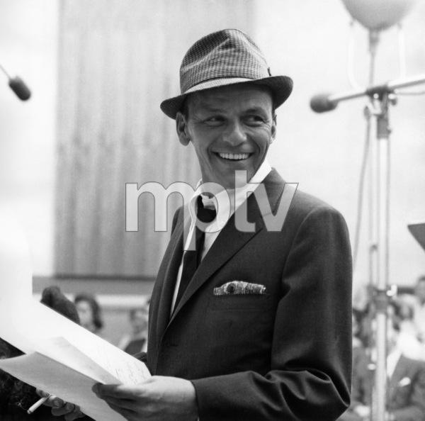 e960d8336f0 Frank Sinatra Recording session