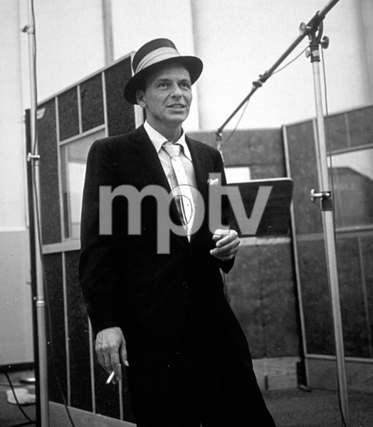 Frank Sinatra c. 1954 Recording Session Capitol Records / © 1978 Sid Avery - Image 0337_1506