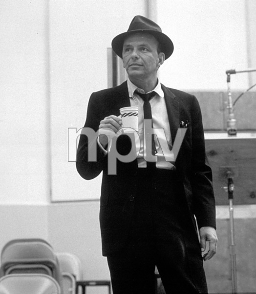 Frank Sinatra c. 1954 Recording Session Capitol Records / © 1978 Sid Avery - Image 0337_1512