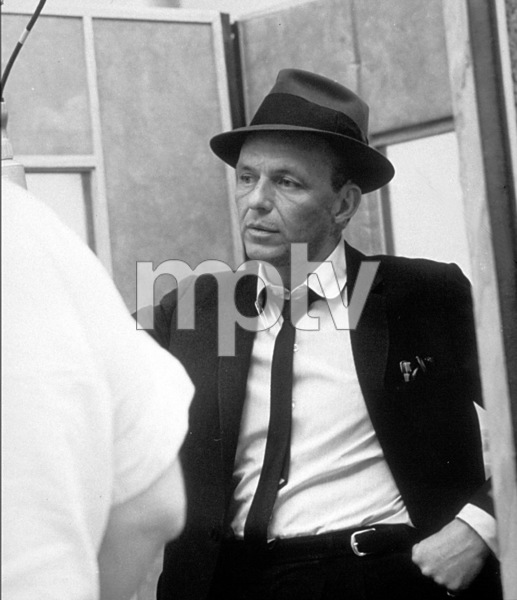 Frank Sinatra c. 1954 Recording Session Capitol Records / © 1978 Sid Avery - Image 0337_1514