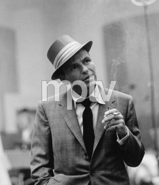 Frank Sinatra at a Capitol Records recording session in Los Angelescirca 1954© 1978 Sid Avery - Image 0337_1517