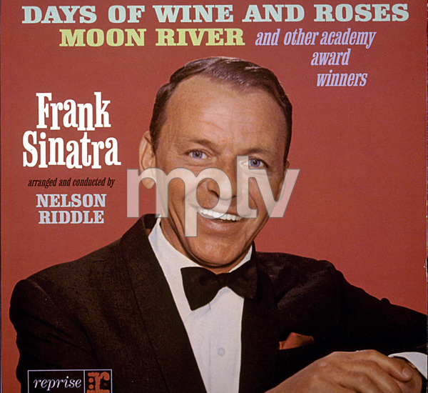 """Frank Sinatra""""Days Of Wine and Roses..."""" Album Cover, 1964. Reprise / Photo by Ted Allan - Image 0337_1529"""
