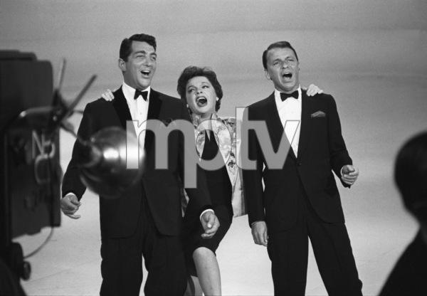 """The Judy Garland Show""Dean Martin, Judy Garland, Frank Sinatra 1962 © 1978 Bob Willoughby  - Image 0337_1699"