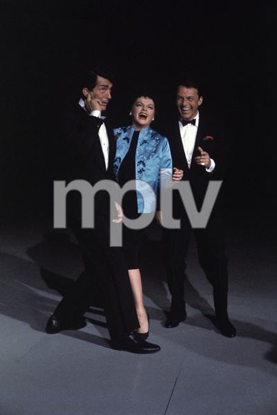 """The Judy Garland Show""Dean Martin, Judy Garland, Frank Sinatra 1962 © 1978 Bob Willoughby  - Image 0337_1711"