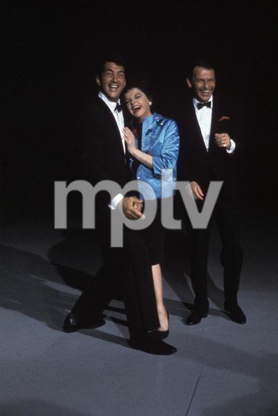 """The Judy Garland Show""Dean Martin, Judy Garland, Frank Sinatra 1962 © 1978 Bob Willoughby  - Image 0337_1713"