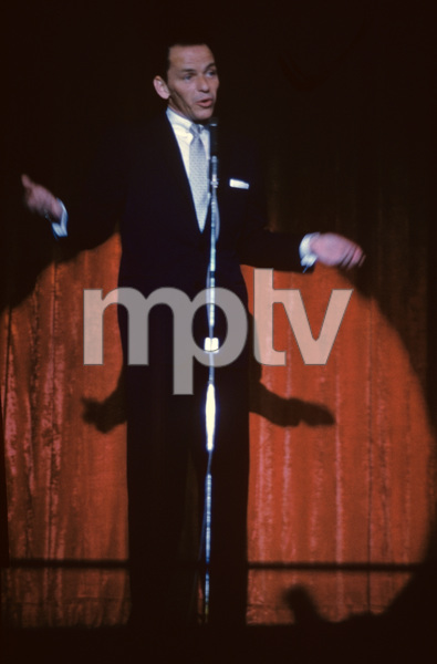 Frank Sinatra performing at the Sands Hotel in Las Vegas1957© 1978 Capitol RecordsPhoto by Ken Whitmore - Image 0337_1726