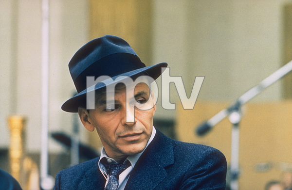 Frank Sinatra at a recording session c. 1957 / Capitol Records © 1978 Sid Avery - Image 0337_1732