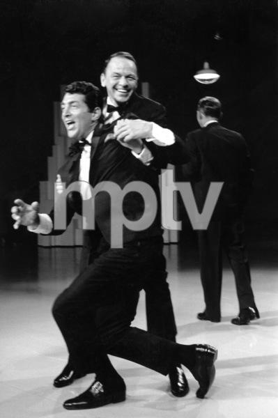 "Frank Sinatra, Dean Martin and Bing Crosby during a ""Bing Crosby Special""1963 © 1978 Gene Trindl - Image 0337_1785"