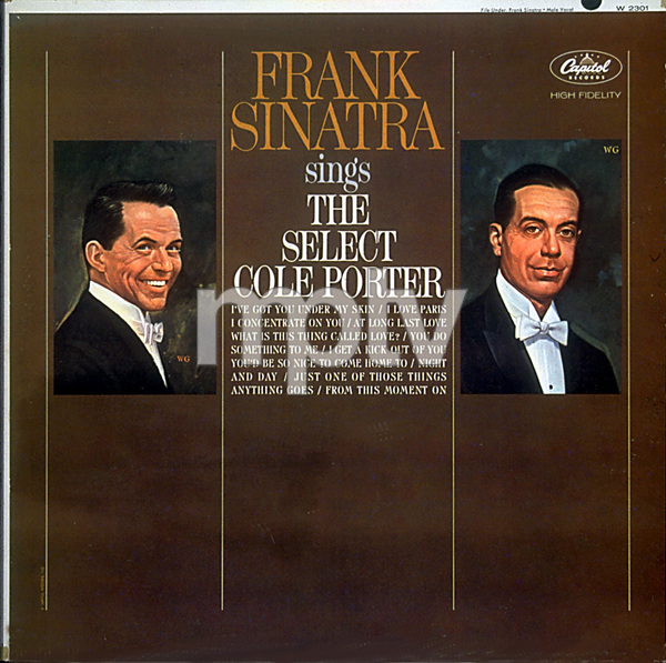 """Frank Sinatra Album Covers """"Frank Sinatra Sings the Select Cole Porter"""" - Image 0337_1790"""