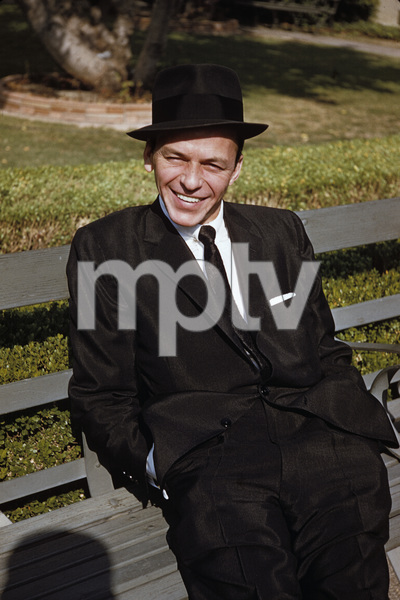"""Frank Sinatra after the recording session for """"The Man with the Golden Arm""""1955© 1978 Bob Willoughby - Image 0337_1825"""