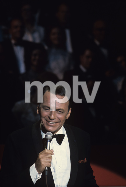 "Frank Sinatra performing on an NBC special entitled ""Frank Sinatra: A Man and His Music + Ella + Jobim"" 1967 © 1978 Ed Thrasher - Image 0337_1839"