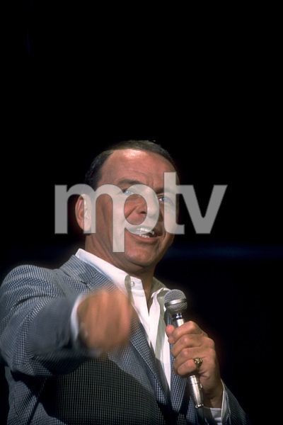 "Frank Sinatra on NBC TV Special ""A Man and His Music""1967 © 1978 Ed Thrasher / MPTV - Image 0337_1848"