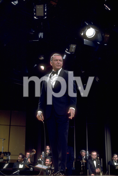 Frank Sinatra on a NBC TV Special 1969 © 1978 Ed Thrasher  - Image 0337_1869