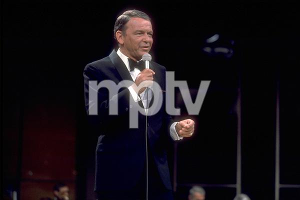 Frank Sinatra on a NBC TV Special 1969 © 1978 Ed Thrasher  - Image 0337_1871