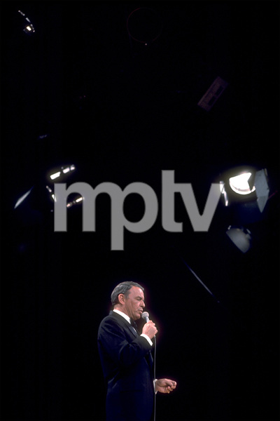 Frank Sinatra on a NBC TV Special 1969 © 1978 Ed Thrasher  - Image 0337_1875
