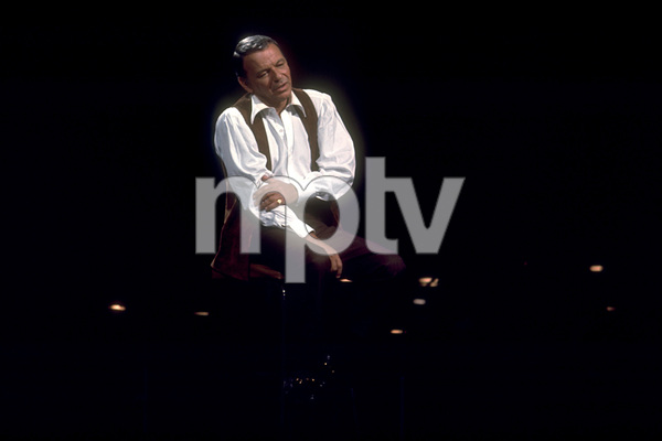 Frank Sinatra on a NBC TV Special 1969 © 1978 Ed Thrasher  - Image 0337_1878